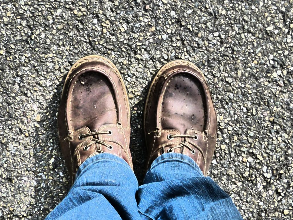 A good pair of traveling shoes can keep you comfortable while wandering